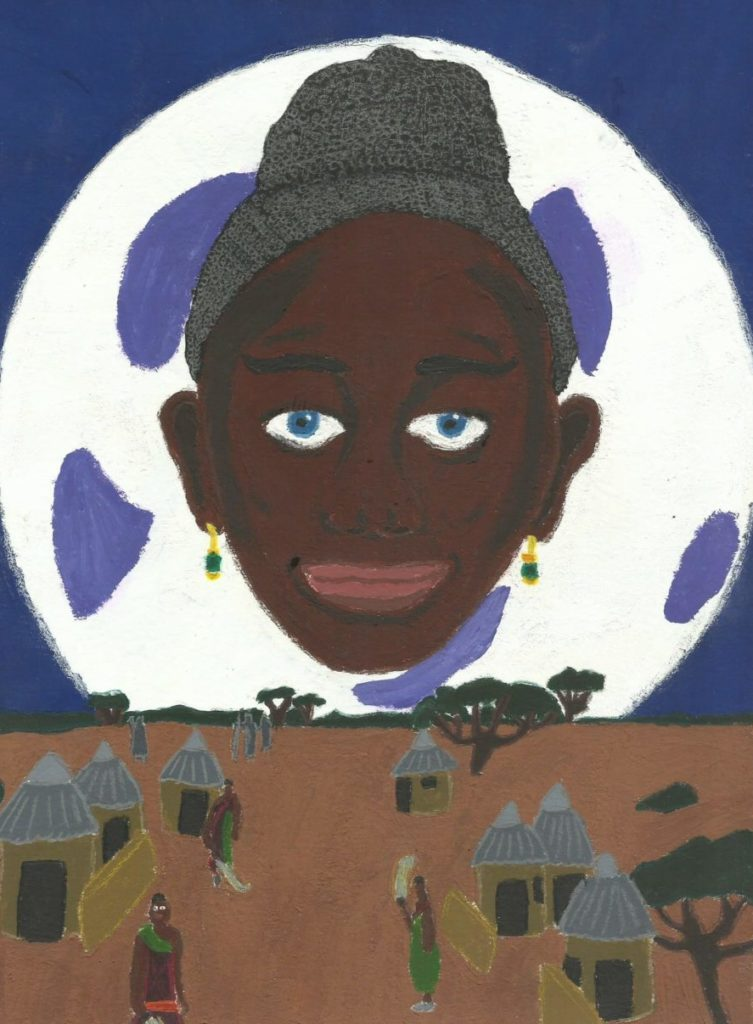 Illustration de l'histoire de la Petite Boako